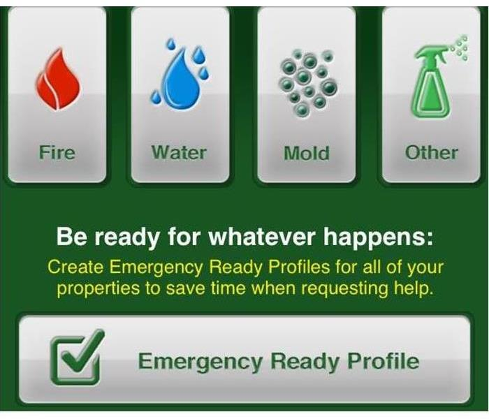 Commercial SERVPRO's FREE Emergency Ready Profile